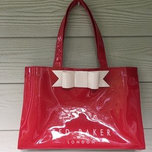 Ted Baker London Bag Red Nude Bow